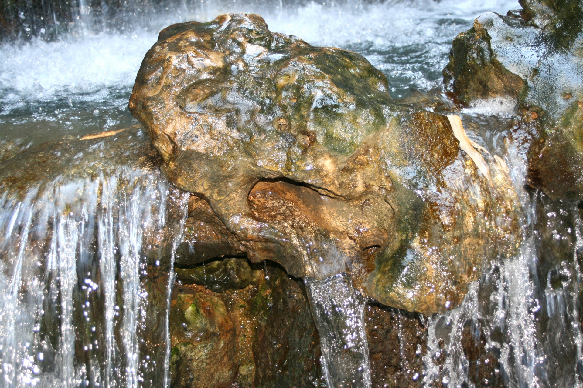 water-over-rocks