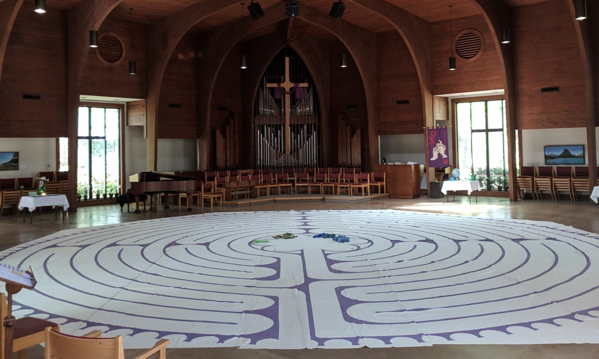 Labyrinth at Olin T. Binkley Baptist Church, Chapel Hill, NC